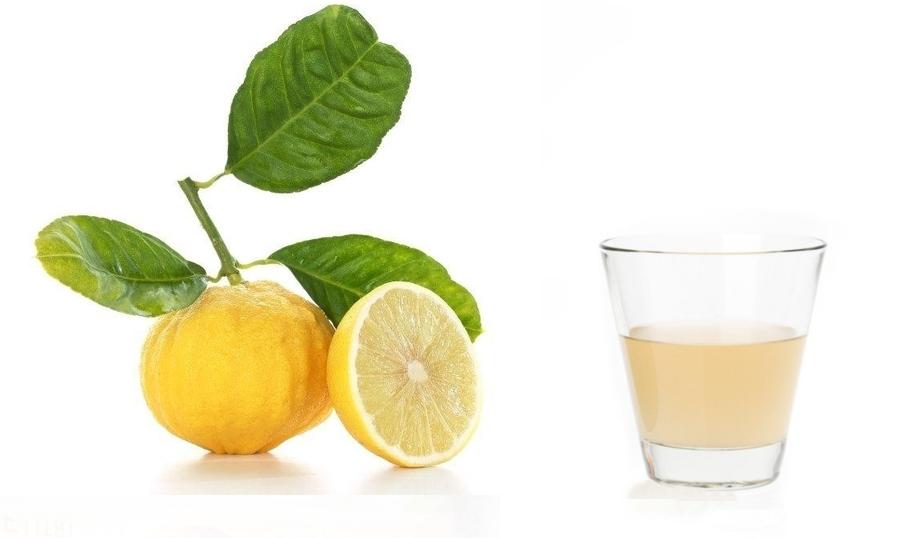 Frutto e succo di bergamotto