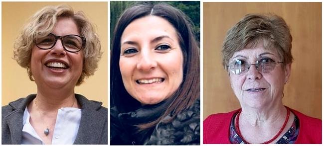 Le scienziate Concetta Castilletti, Francesca Colavita e Maria Capobianchi
