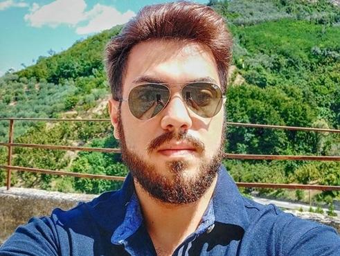Lo studente campano Domenico Benvenuto