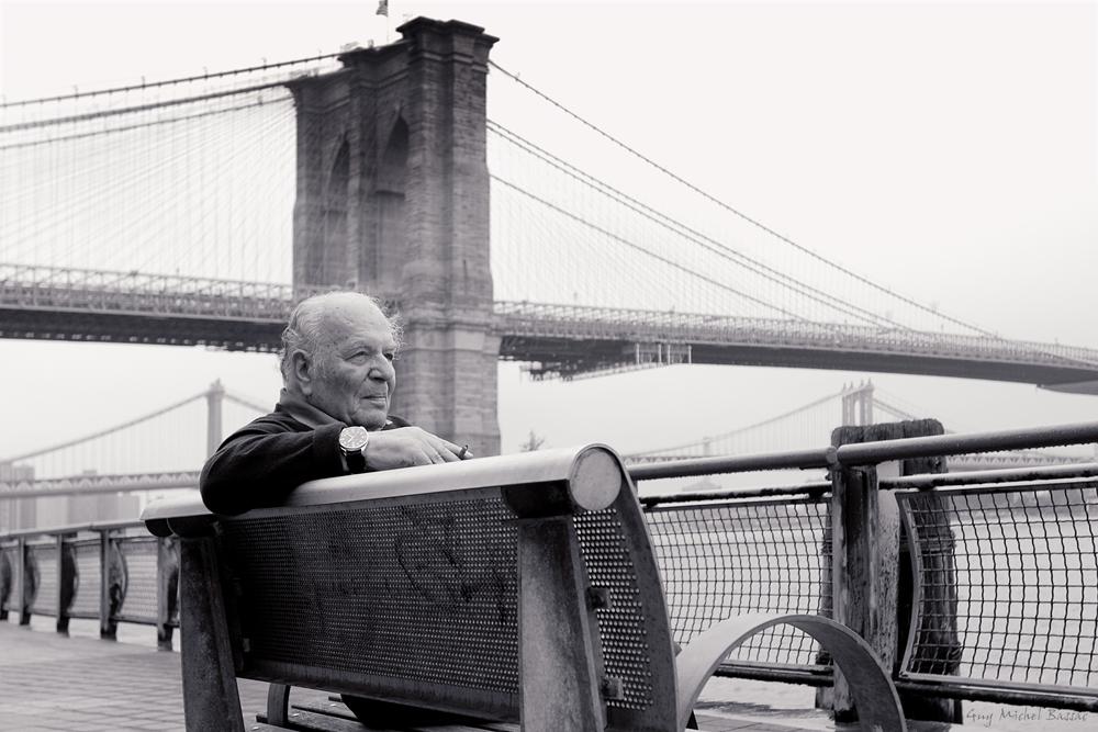 Joseph Tusiani a Brooklyn - Courtesy of Guy Michel Bassac