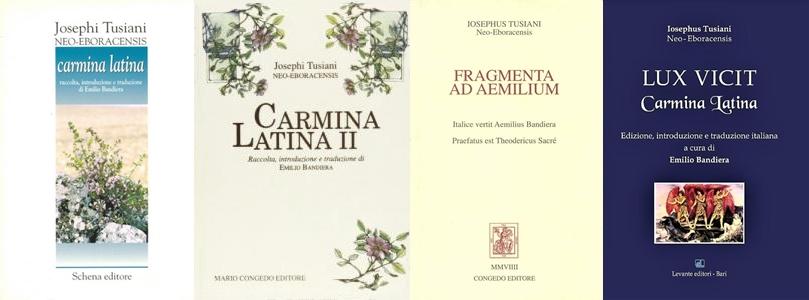 Opere latine di Tusiani edite in Italia