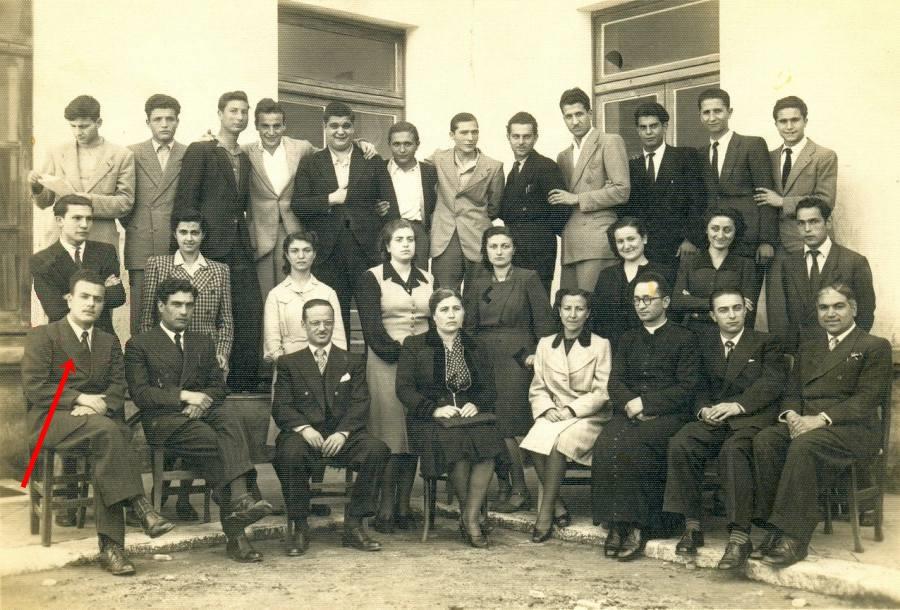 Giuseppe Tusiani al Liceo di S. Marco in Lamis