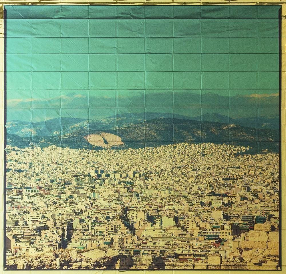 Giuseppe Lo Schiavo, Athens, Stampa d'archivio UV su metallina termica, 2018