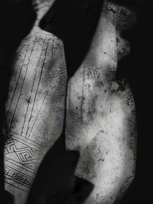 Bianca Delapierre, Immutability, stampa fine art inkjet a pigmento con stampante epsonsupercolor ed inchiostri hd in bianco e nero esteso, 2020