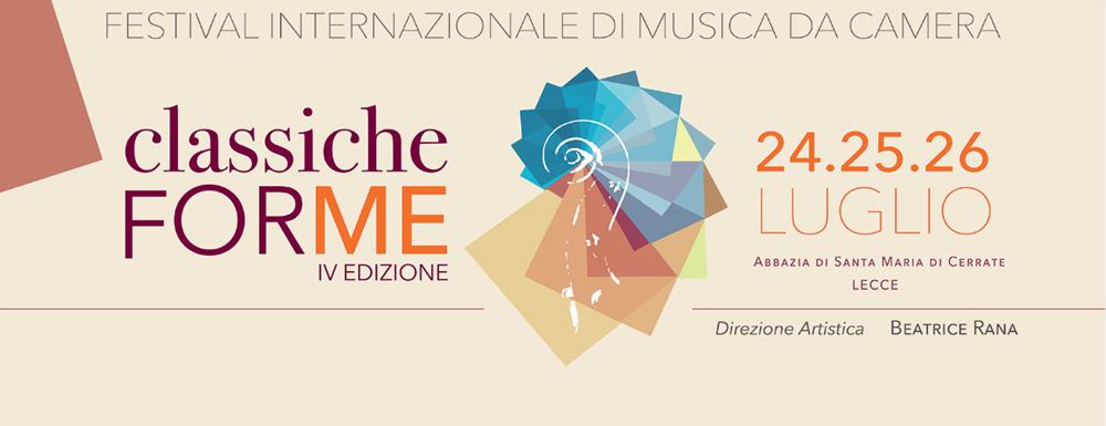 Classiche FORME (Lecce, 24, 25, 26 luglio 2020)