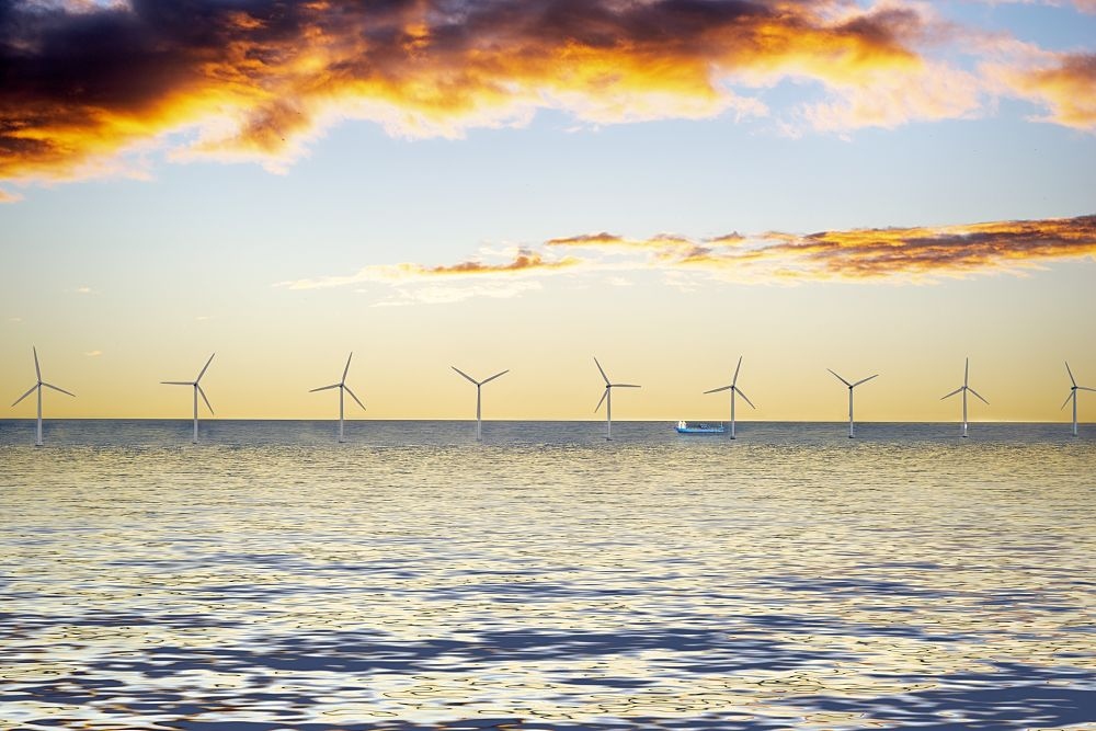 Impianto eolico marino