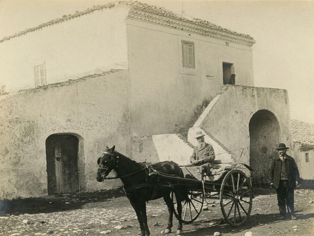 Laval Nugent, Autoritratto sul calesse, Lucania, XIX-XX secolo - Coll. Diciocia