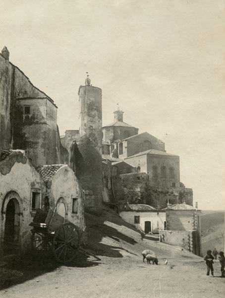 Laval Nugent, Scorcio di Montepeloso (Irsina), Lucania, XIX-XX secolo - Coll. Diciocia ©