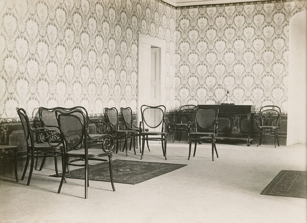 Laval Nugent, Salone del Castello di Montepeloso, Lucania, XIX-XX secolo - Coll. Diciocia