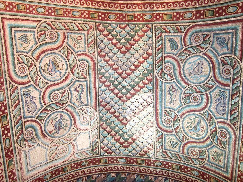 Mosaici della volta a botte, V-VI sec. d.C. - Ph. © Alessandro Romano