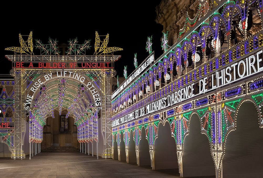 Luminarie  a Piazza Duomo, Lecce - Ph. © Alessandro Garofalo