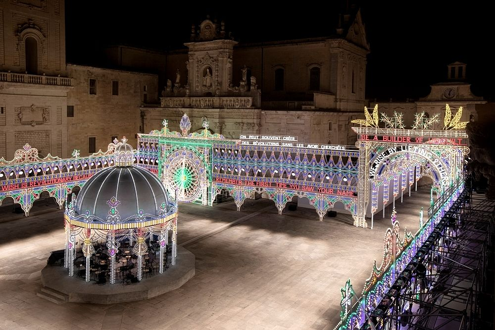 Piazza Duomo ''vestita'' di luminarie, Lecce - Ph. © Alessandro Garofalo