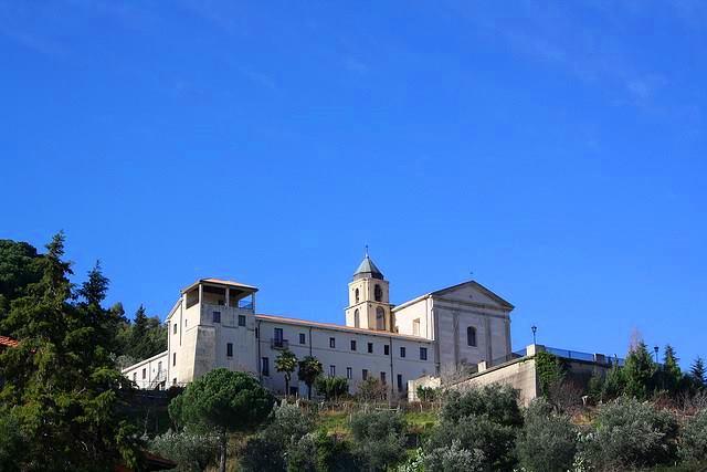 Scorcio del santuario francescano dell'Ecce Homo, a Mesoraca (Crotone)