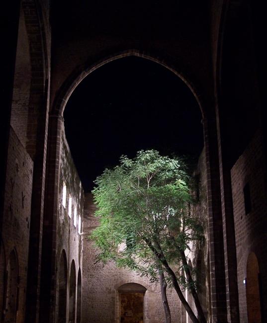 Scorcio notturno di Santa Maria dello Spasimo, Palermo
