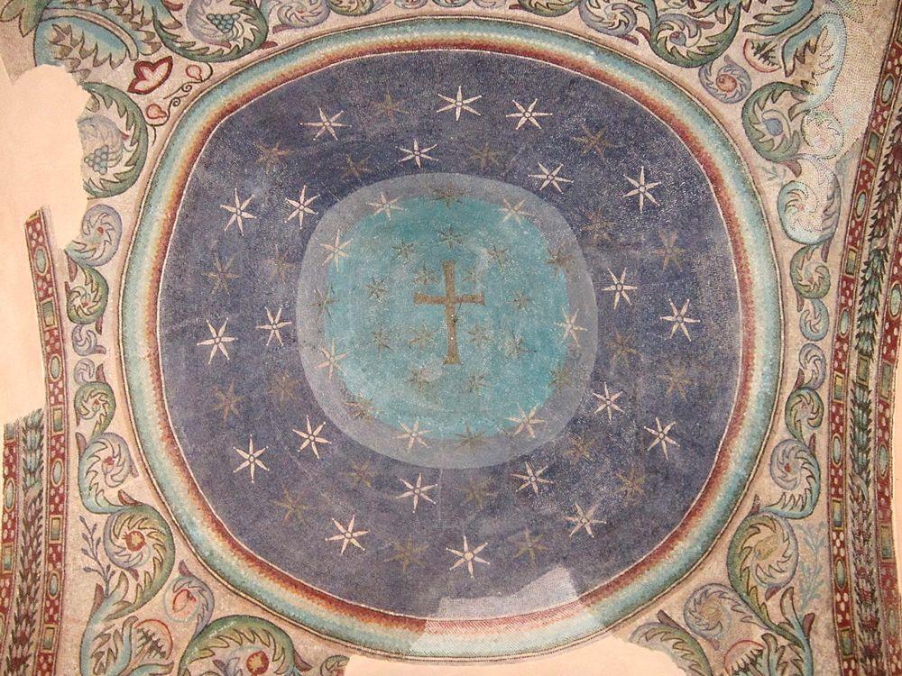 Part. dei mosaici della cupola, VI° sec. d.C. - Ph. © Alessandro Romano