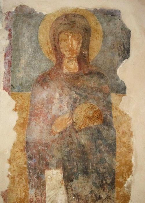 Santa Parasceve, affresco, X-XI secolo - Ph. © Alessandro Romano