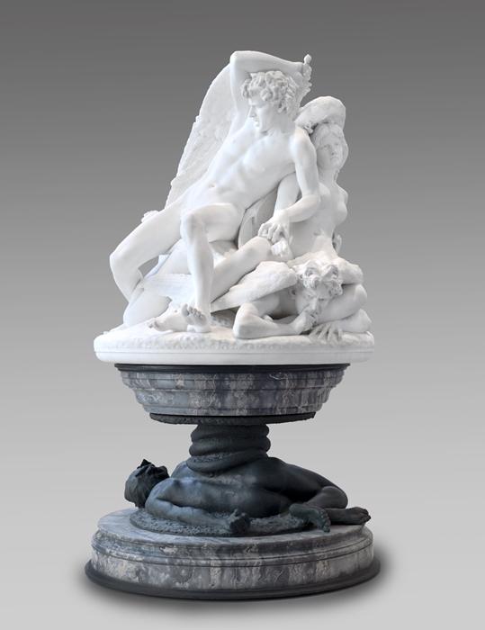 Salvatore Albano, Gli Ageli caduti, 1883 - Ph.  Brooklyn Museum, NY