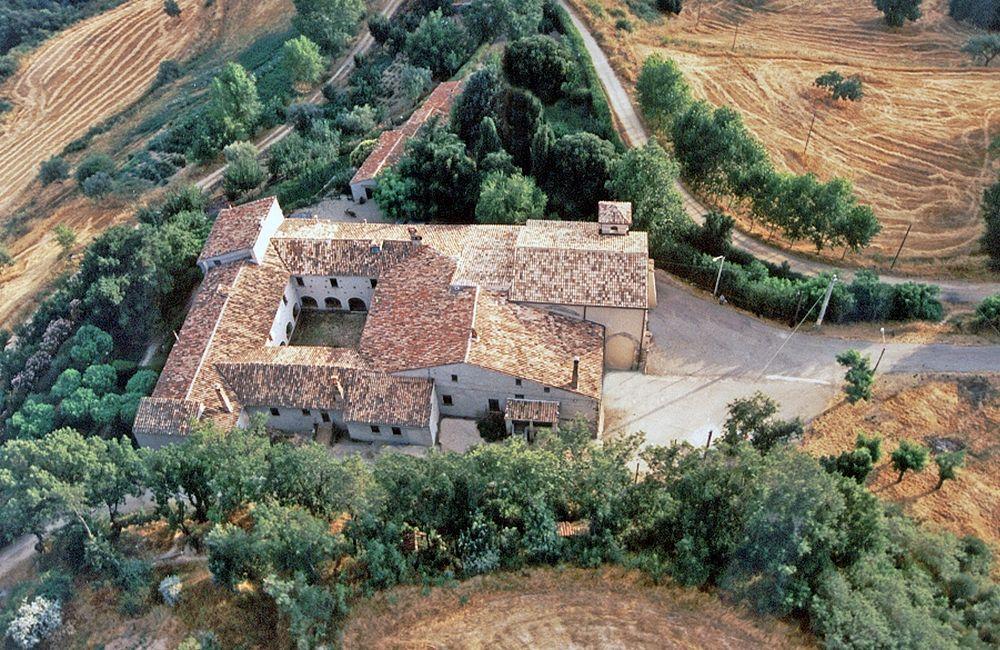 Veduta aerea del complesso della Sambucina