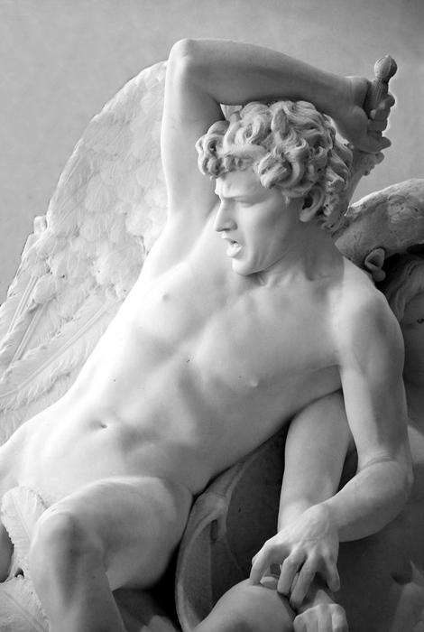 Salvatore Albano, Gli Ageli caduti (part.), 1883 - Ph.  Brooklyn Museum, NY