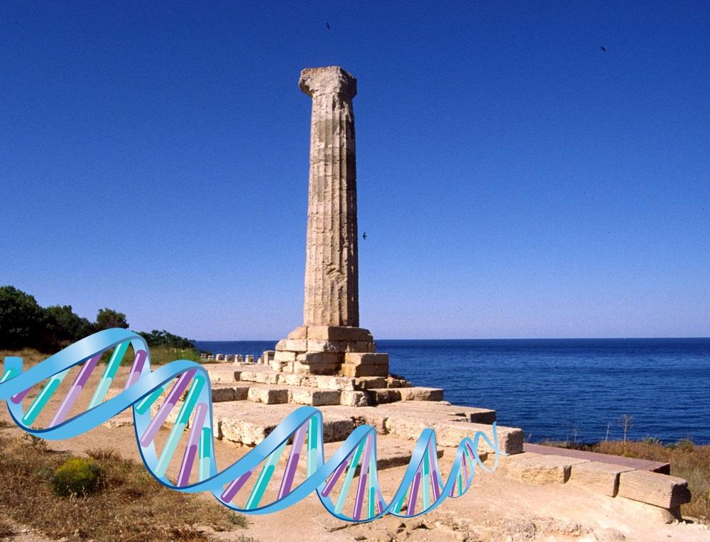 Resti del tempio di Hera Lacinia, a Capo Colonna (Crotone)