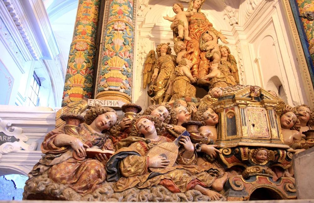 Fra' Diego da Careri, Angeli musicanti (part. lato sinistro)
