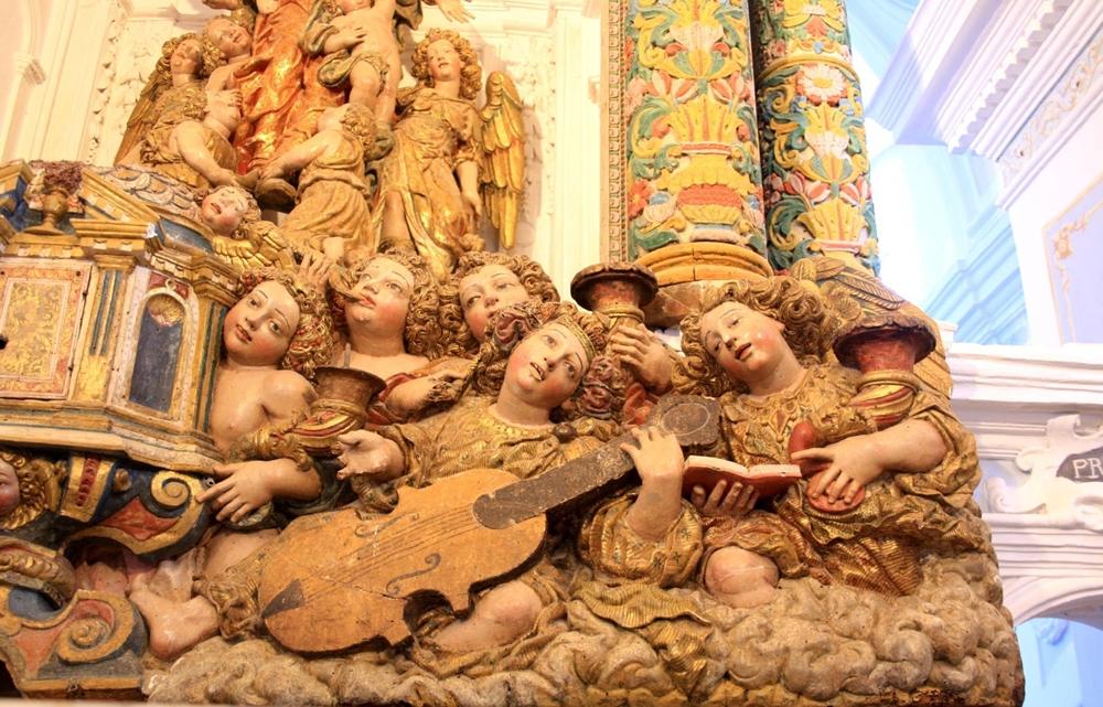 Fra' Diego da Careri, Angeli musicanti (part. lato destro)