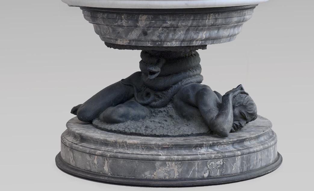 Salvatore Albano, Gli Ageli caduti (part. della base), 1883 - Ph.  Brooklyn Museum, NY