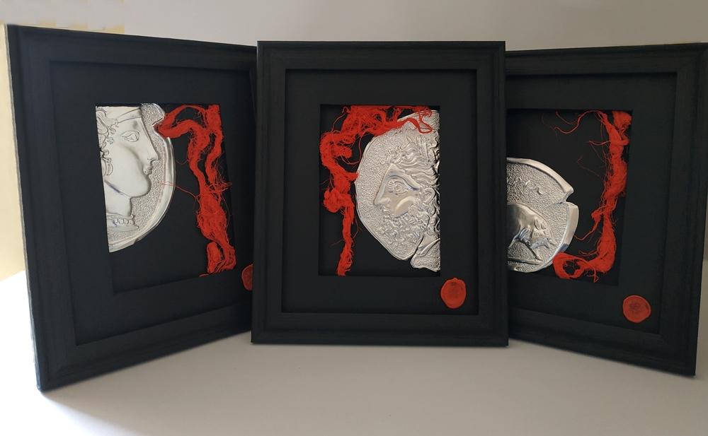 Frammenti, le tre opere di Angelo Ventimiglia per i vincitori di Calabria in Versi
