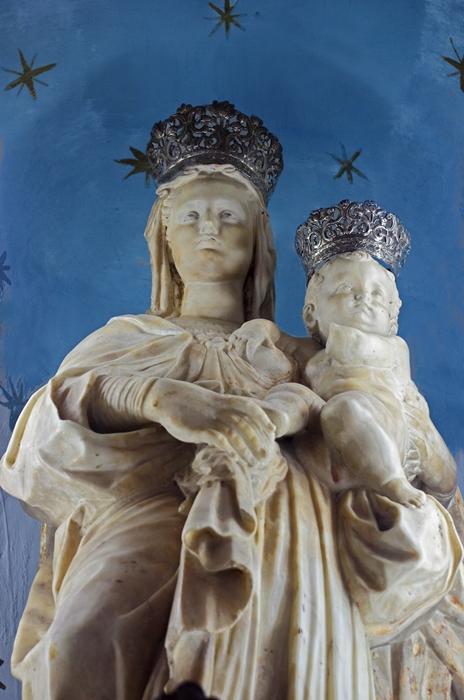 Rinaldo Bonanno, Madonna del Bosco, 1588-89, Chiesa di S. Maria del Bosco, Podargoni di Reggio Calabria