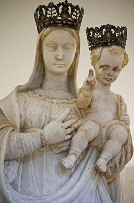 Giuseppe Bottone, Madonna delle Grazie, Chiesa della Madonna delle Grazie, 1568, S. Eufemia d'Aspromonte