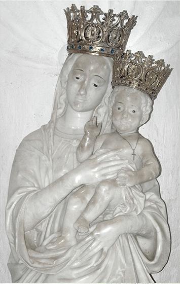 Antonello Gagini, Madonna dell'Alica, Chiesa dello Spirito Santo, Pietrapennata di Palizzi (RC)