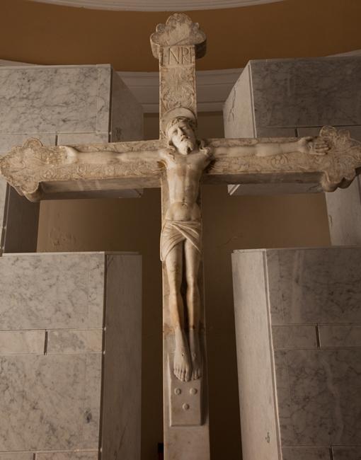 Crocifisso, bott. di Giandomenico Mazzolo, seconda metà XVI sec.