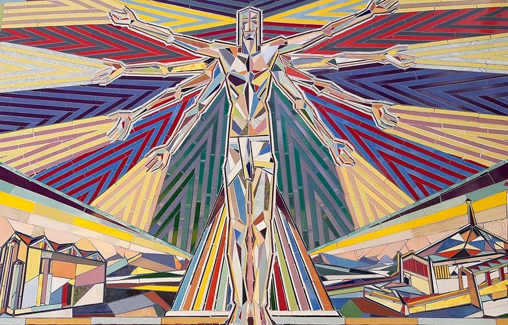 Nik Spatari, Le Verità (part.), mosaico - Image by MuSaBa