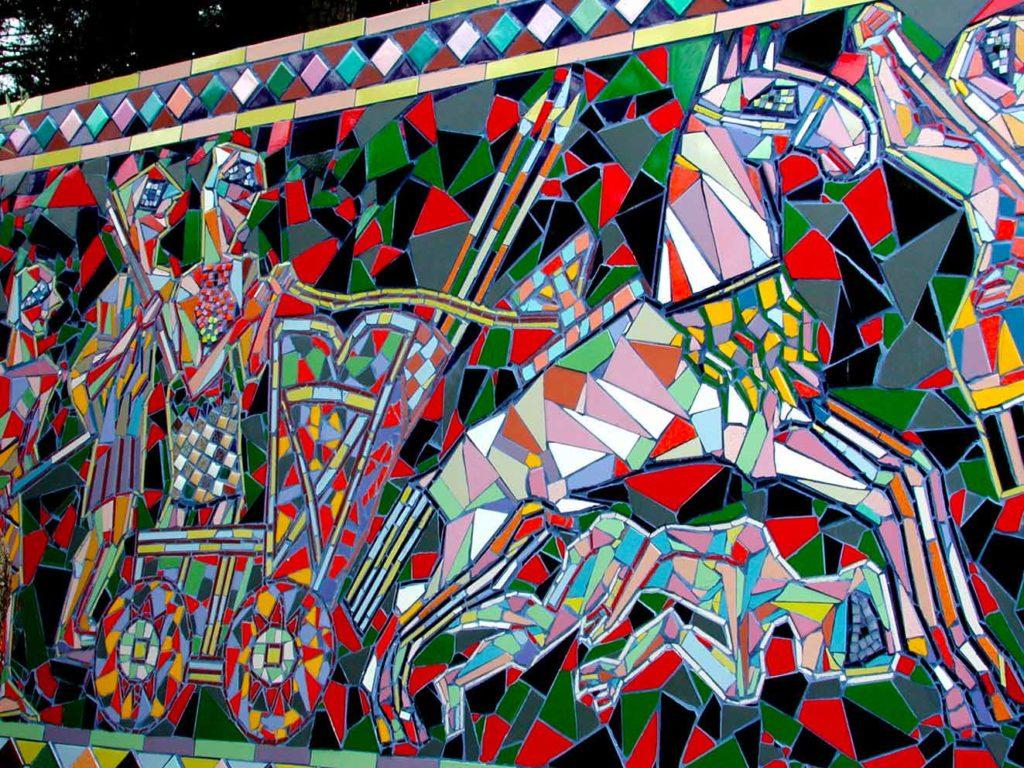 Nik Spatari, mosaici ispirati agli antichi popoli del Mediterraneo - Ph.