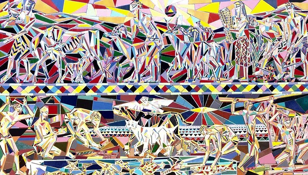 Nik Spatari, Mosaici dedicati agli antichi popoli del Mediterraneo - Ph. MuSaBa