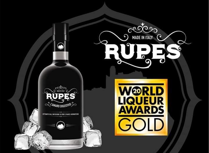 Rupes - Gold Medal ai World Liqueur Awards 2020