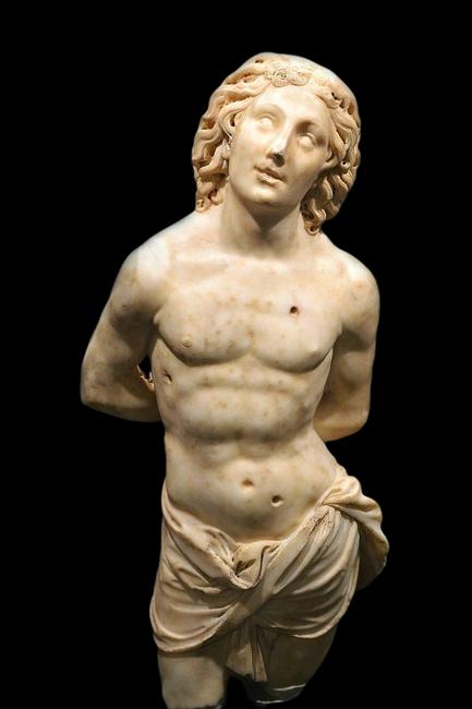 Benedetto da Maiano, San Sebastiano, Museo Diocesano, 1492 ca. Oppido Mamertina (RC)