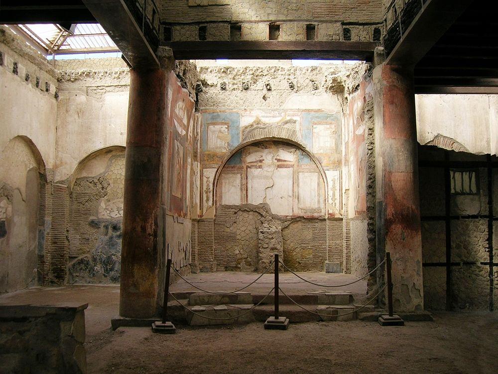 Scorcio del Collegio degli Augustali, Ercolano (Napoli) - Image source