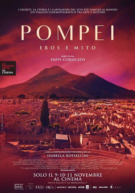 Pompei. Eros e Mito. Il manifesto del docufilm