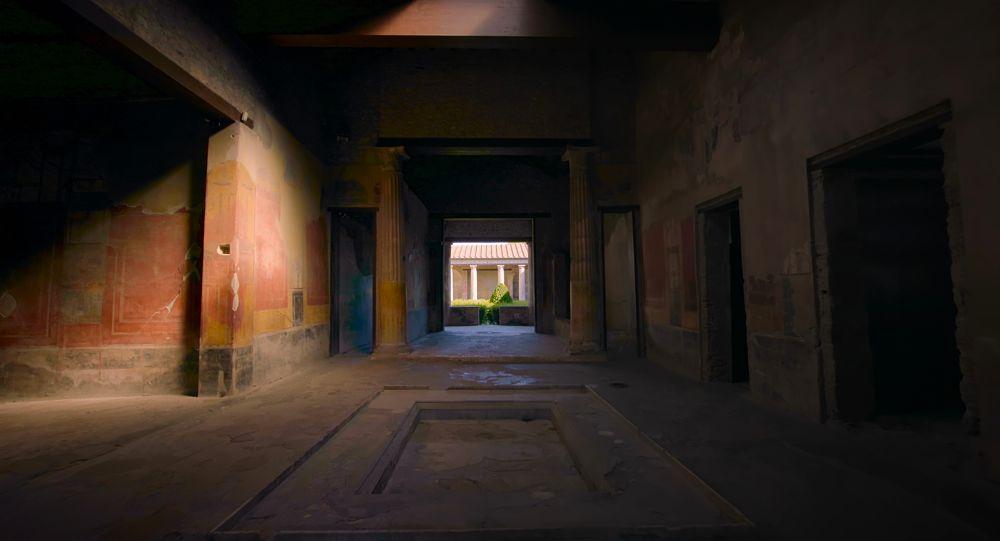 Interno di casa pompeiana