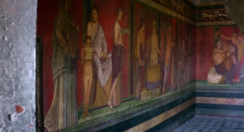 Scorcio della Villa dei Misteri, Pompei