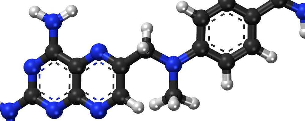 Molecola di Metotrexato (elaborazione grafica)