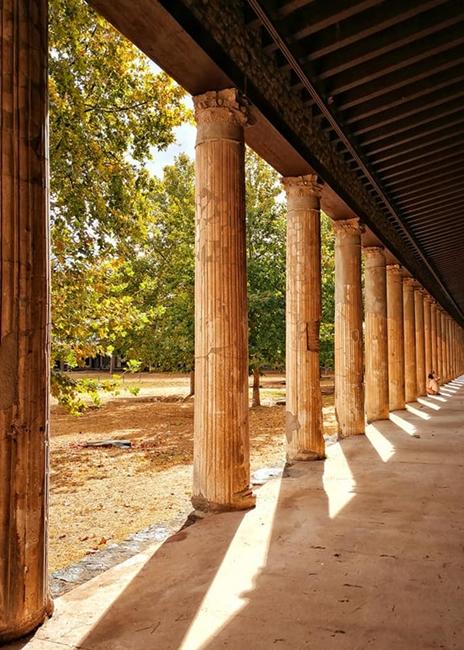 Peristilio di casa pompeiana - Image courtesy Laura Noviello ©