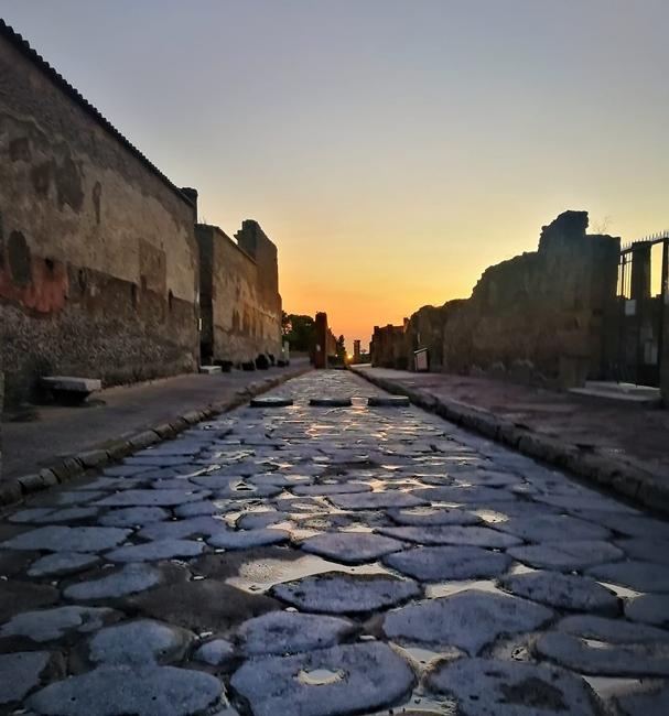 Pompei dopo la pioggia, autunno 2020 - Image courtesy Laura Noviello ©