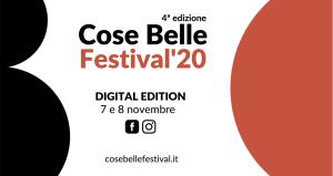 Cose Belle Festival celebra la creatività con una speciale Digital Edition 2020