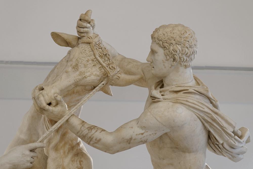 Toro Farnese (part.), marmo, I-III sec. d.C., Napoli, Museo Archeologico Nazionale - Ph. Marie-Lan Nguyen | cc-by2.5