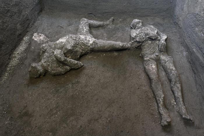 I due corpi ritrovati a Pompei - Image by Parco Archeologico di Pompei