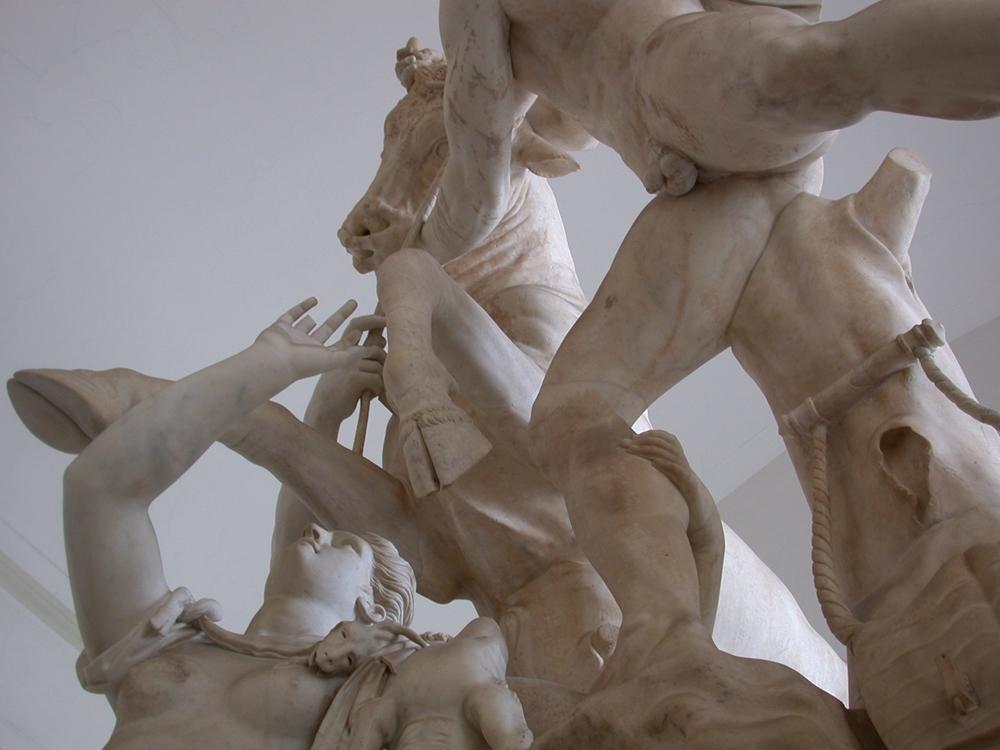 Toro Farnese (part.), marmo, I-III sec. d.C., Napoli, Museo Archeologico Nazionale -