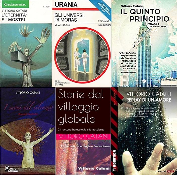 Una piccola selezione di libri di Vittorio Catani