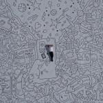Doodle Art: il calabrese Francesco Caporale nel Guinnes col disegno più grande del mondo